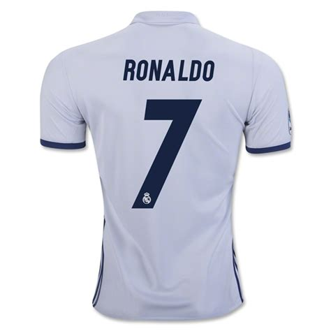 Official Real Madrid Home 1617 real madrid home football shirt 16 17 soccerlord