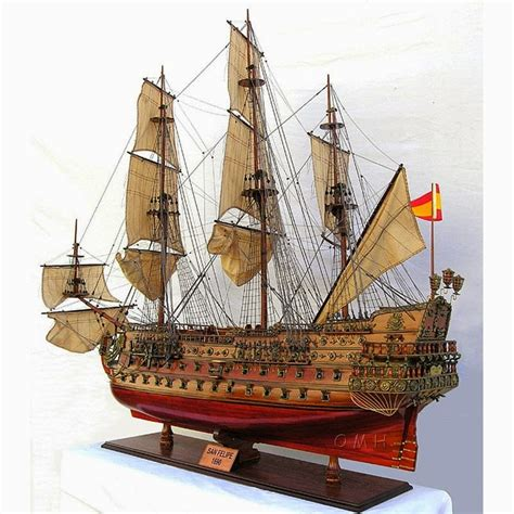 Handcrafted Ship Models - decorative boats nautical handcrafted decor