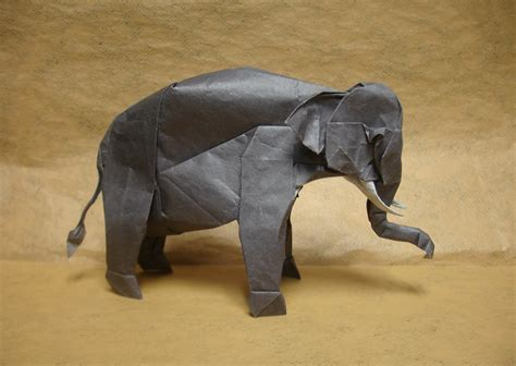 3d Origami Elephant - 31 origami elephants to fold for the elephantorigamichallenge