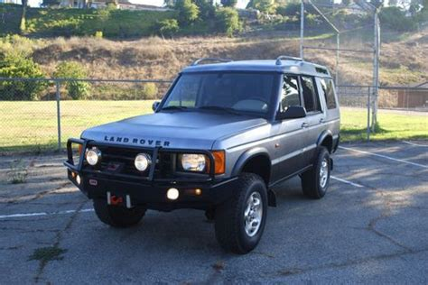 2000 land rover lifted find used 2000 land rover discovery series ii road