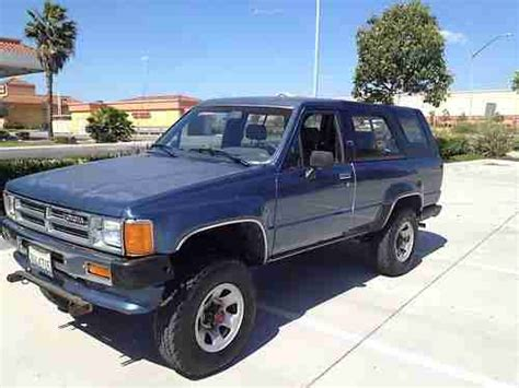 small engine service manuals 2011 toyota 4runner auto manual purchase used 1989 toyota 4x4 4runner 4wd 1st generation 22re 84 85 86 87 88 89 4 runner in la