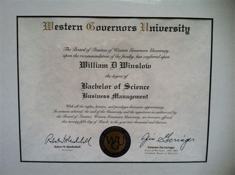 Western Governors Mba Healthcare Management by A Review Of My Experience Earning My B S In Business