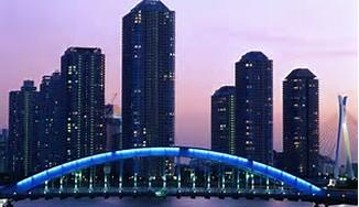Eitai Bridge Tokyo Japan