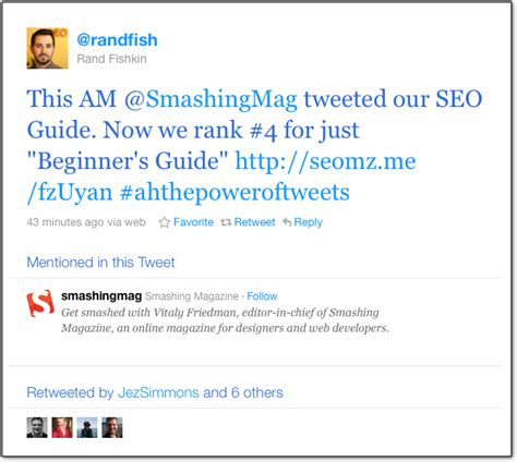 How To Search S Tweets A Tweet S Effect On Rankings An Study Moz