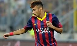 Messi and Neymar Barcelona 2014