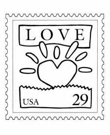 post office coloring page kids coloring