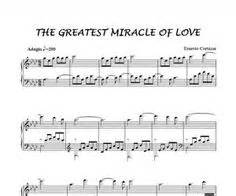 The Greatest Miracle Free Infinite Piano Sheet Now Available On Ernestocortazar Net Ernesto Cortazar