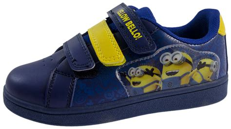 flat character shoes minions sports trainers despicable me character shoes