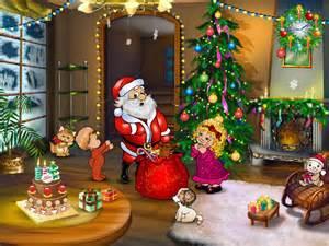 Christmas entourage free christmas screensavers