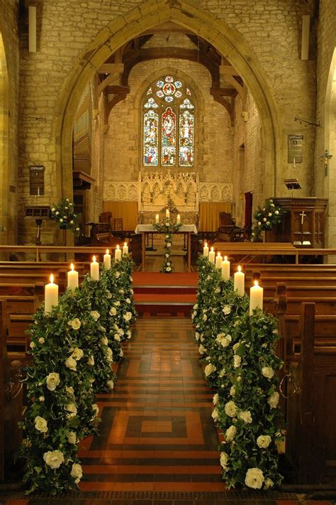 Wedding Aisle Decorations Church by 161 Best Wedding Church Decorations Images On