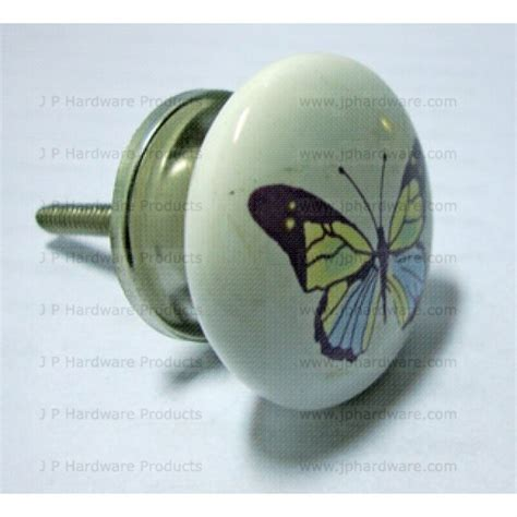 Butterfly Door Knobs by Butterfly Ceramic Knob Porcelain Cupboard Door Knobs Handles