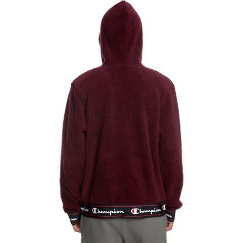 Hoodie Maroon 5 4 s chion sherpa hoodie maroon