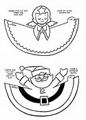 Activity Christmas Coloring Pages Printable