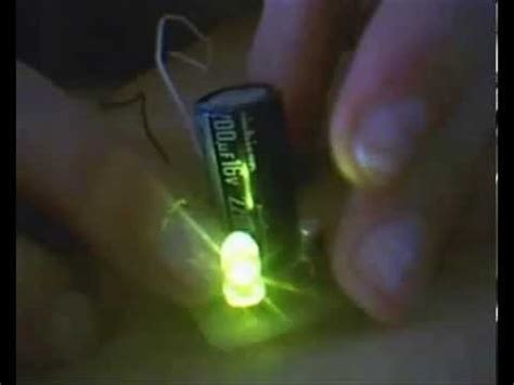 dioda led i bateria migająca dioda led na 12v