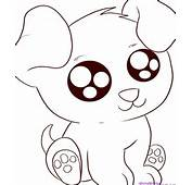 Cute Cartoon Animal Coloring Pages