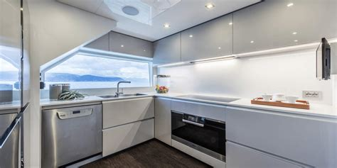 kitchen design specialists ernestomeda vince il premio best mega yacht kitchen design