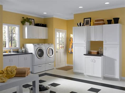white cabinets for laundry room white cabinets rockford door style cliqstudios contemporary laundry room minneapolis
