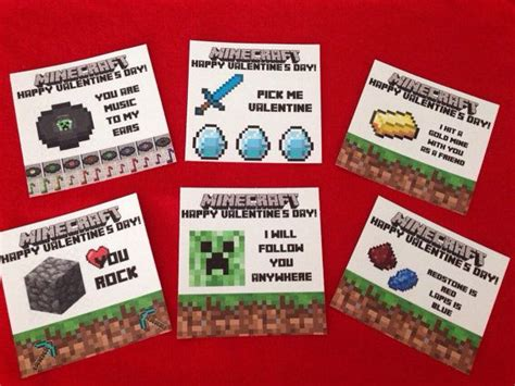 minecraft s day cards diy by