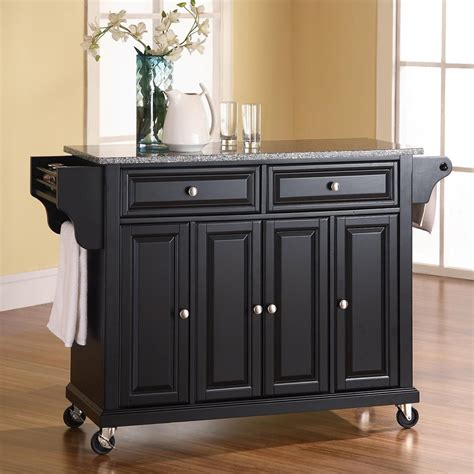 36 kitchen island shop crosley furniture black craftsman kitchen island at