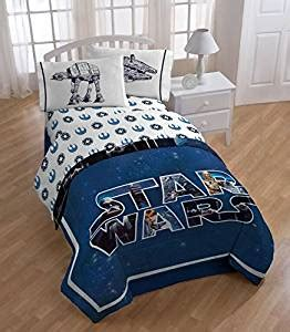 star wars twin bedding set amazon com star wars twin comforter and sheet set home