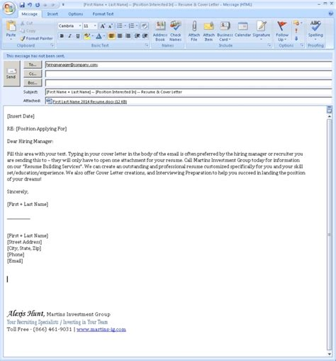 Email Cover Letter For Posting Sle Email For Application With Resume Lifiermountain Org