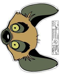 printable rafiki mask hyena gif 660 215 847 pixels travail pinterest hyena