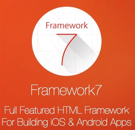 mobile apps framework 10 frameworks for mobile hybrid apps jscramber