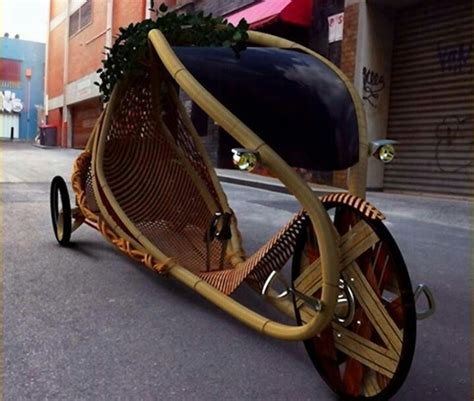 reclining bikes bamboo reclining bicycle cars pinterest