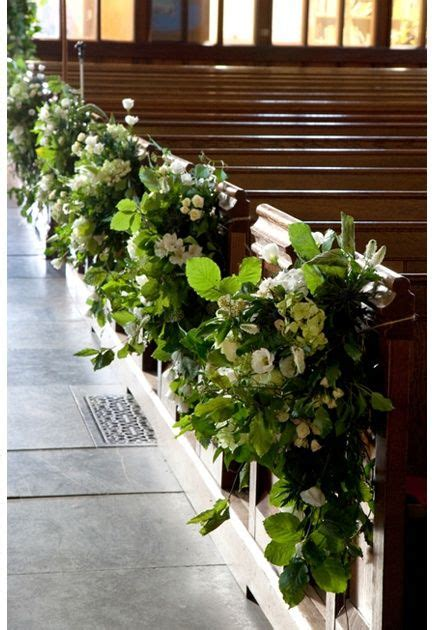 church wedding pew decorations budgetweddings