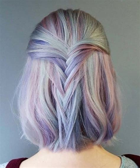 to hair color oil slick hair color trend is both a subtly beautiful and