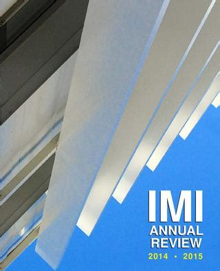 Imi Executive Mba Review by Imi Annual Review 2014 2015 By Institute For Management