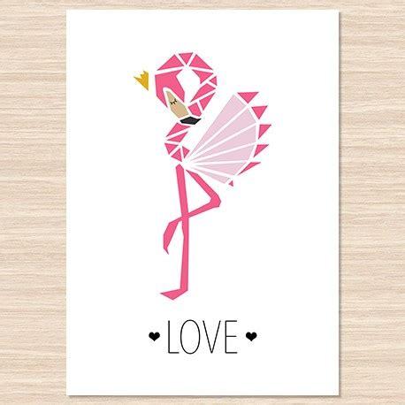 Affiche Decorative by Affiche D 233 Corative Flamant Votre Joli Jour
