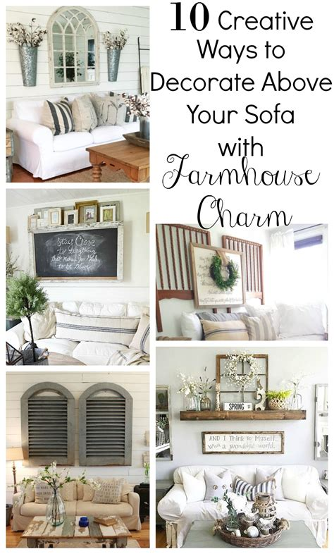 creative ways to decorate your home creative ways to decorate above the sofa vintage nest
