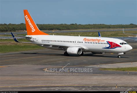 swing airlines ok tve sunwing airlines boeing 737 800 at punta cana