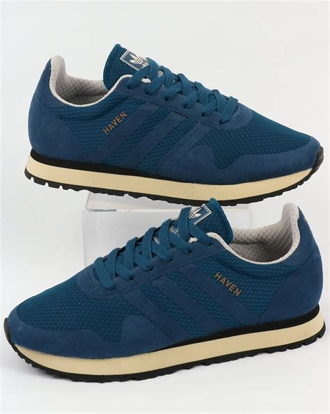 adidas haven adidas haven trainers blue night originals shoes runners