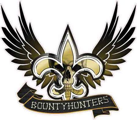 All Saints Gift Card For Sale - new orleans saints bounty hunter vehicle decal sticker ebay