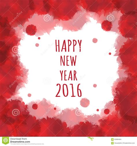 new year backdrop vector watercolor 2016 happy new year background vector stock