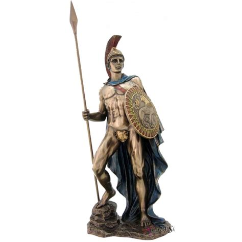 Ares Mars Statue Greek Roman God Of War Figure Bronze 12 5 Polyvore | ares greek god of war statue mars statue