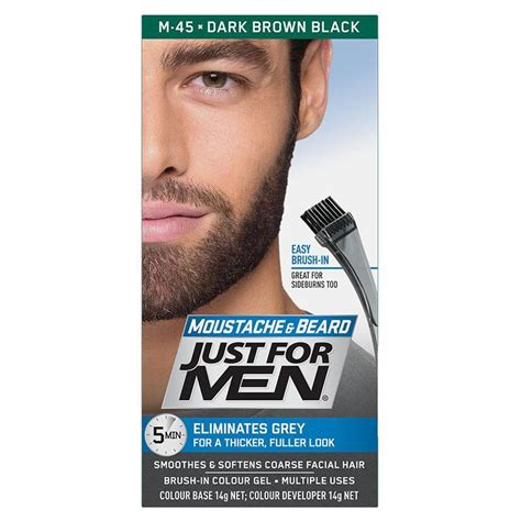 beard color buy just for beard colour brown black at