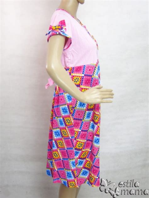 Daster Katun Mow estila stylish maternity and nursing wear