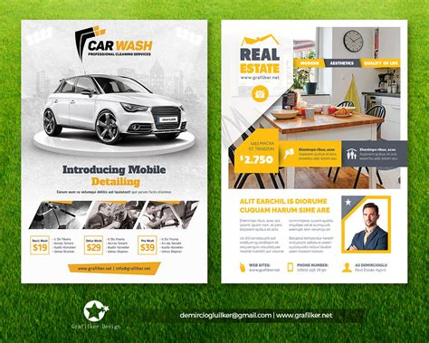 envato templates professional flyer templates by grafilker on envato studio