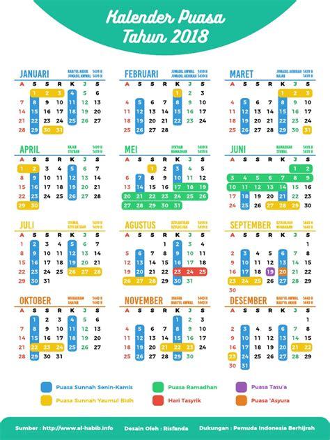 Kalender 2018 Indonesia Hijriyah Kalender Puasa 2018