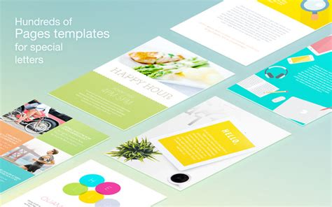 Mac Pages Templates 4 Cards by App Shopper Gn Letter Templates For Pages Productivity