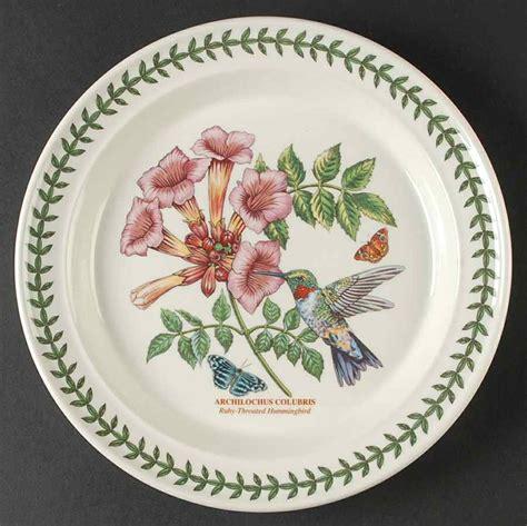 Portmeirion Botanic Garden Patterns Portmeirion Botanic Garden Birds Ruby Hummingbird Dinner Plate 10002919 Ebay