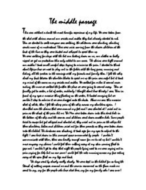 Middle Passage Essay by Middle Passage Essay Middle Passage Essay The Middle Passage And Ships 1000 Images About