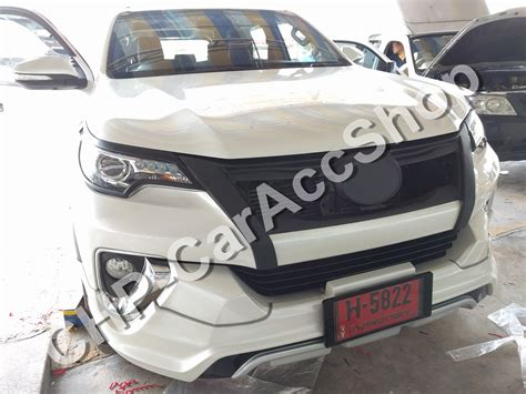 All New Fortuner Grill Depan Activo Front Grill Activo matte black front grill aluminum net toyota fortuner 2015 2016 2017 nodrilling