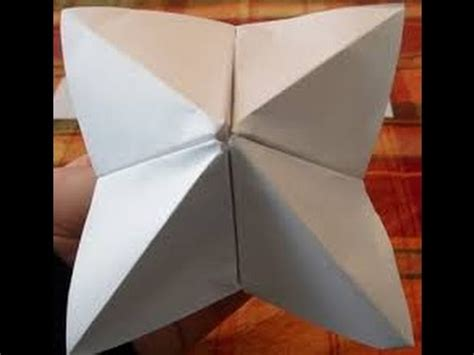 How To Make A Paper B - basic origami b o b ep 1 how to make a origami cootie