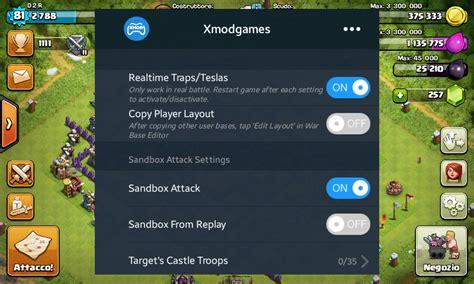 x mod game coc tanpa root cara modus cara mudah pasang xmodgames coc