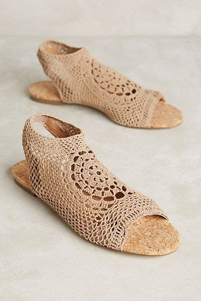 Flat Shoes Nv04 Sepatu Sandal Wedges Wanita Platform 10 images about calzados ganchillo on free crochet slipper patterns crochet and