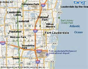 map of fort lauderdale florida area edgewood fort lauderdale nbhd florida